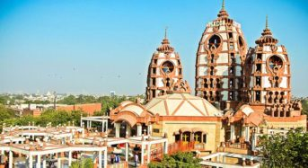 On a Spiritual Sojourn to Delhi ISKCON