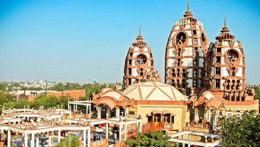 On a Spiritual Sojourn to Delhi ISKCON