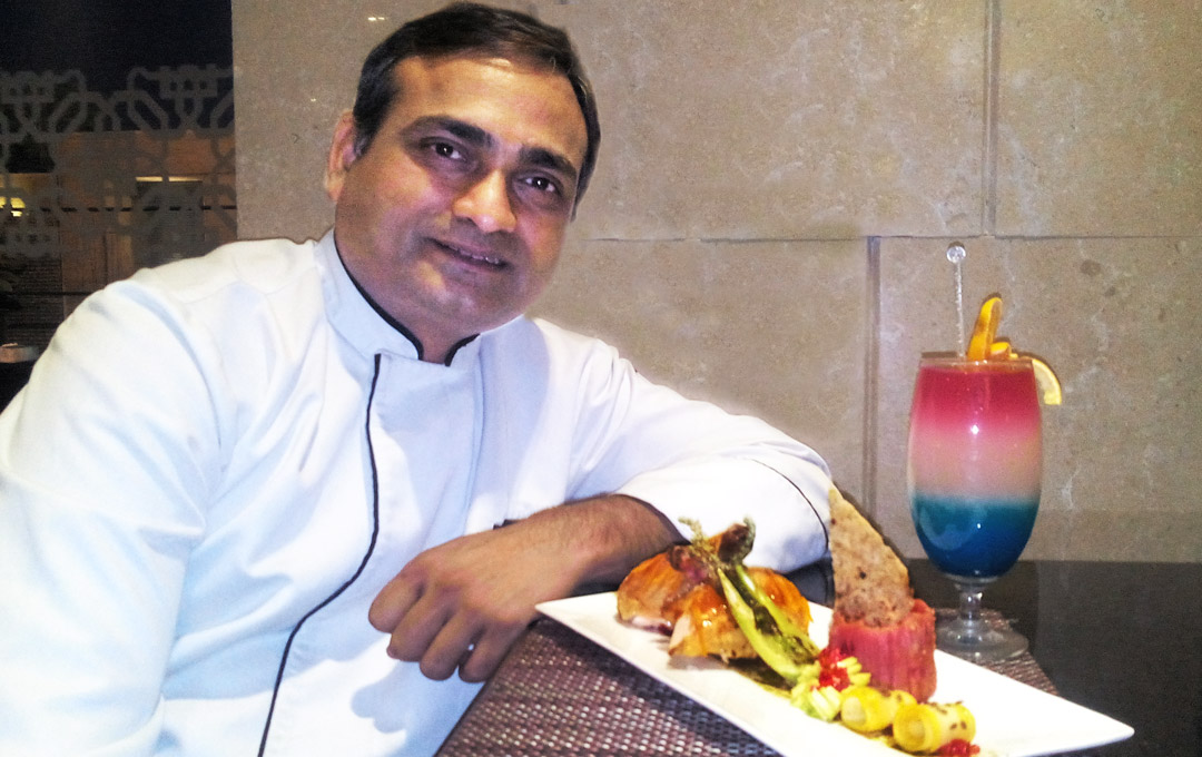 Mom's Recipes Churn Out The Passionate Radisson Blu's Executive Chef – Jaipur