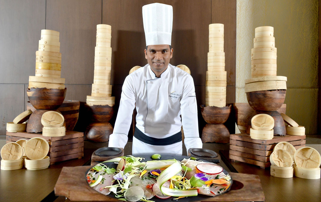 Chef Navin Singh Is Busy Wielding His Kitchen Knives The Five-Star Way