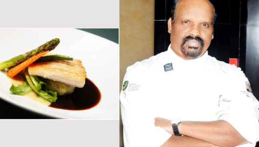 Chef Selvaraju's Dishes Bring In Grandma's stone Grinding Authenticity