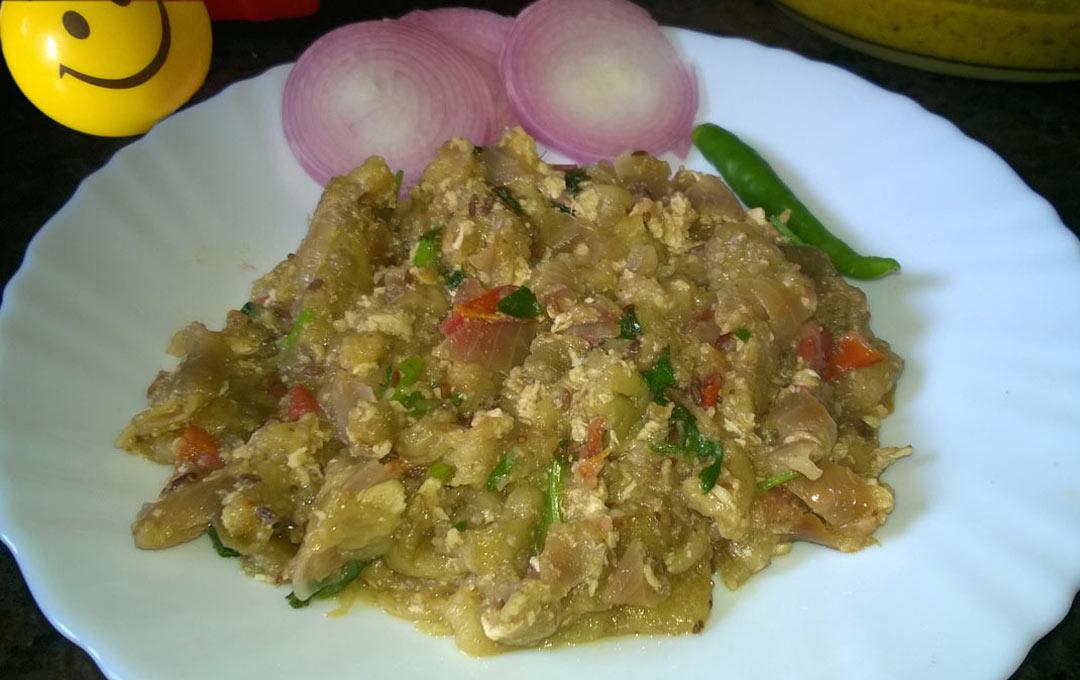 An Eggy Treat – 'Bengan Ande ka Bharta'