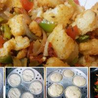 Instant Meal – Masala Rawa/Sooji Idli