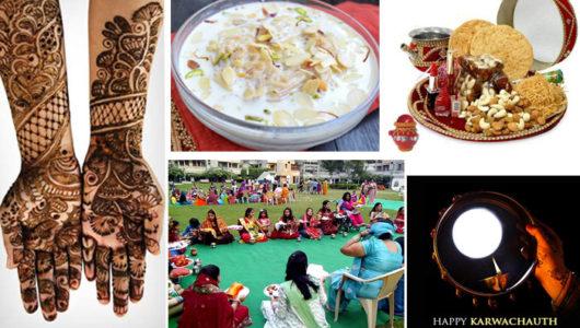 Mehendi, Sargi & Puja – The Karwa Chauth Celebrations Never Cease to Amaze