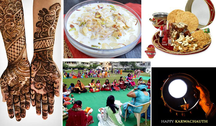 Mehendi, Sargi & Puja – The Karwa Chauth Celebrations Never Cease to Amaze