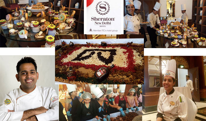 Hotel Sheraton, New Delhi Heralds the Christmas Festivities with its Legendary Cake Mixing Ceremony