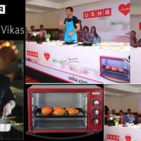 Chef Vikas Khanna and USHA Come Together for a Cook out Session