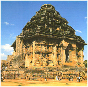 Dedicated to the Sun God, Konark