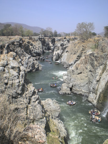 Cauvery river waters