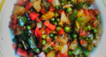 Mixed Vegetable in Continental Style