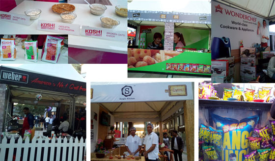 Weber Grills, Wonderchef, Slap Popcorn, Mccann, Sangi's Kitchen and Kosh oats