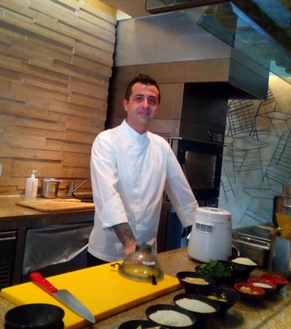 Chef Salvatore Salis