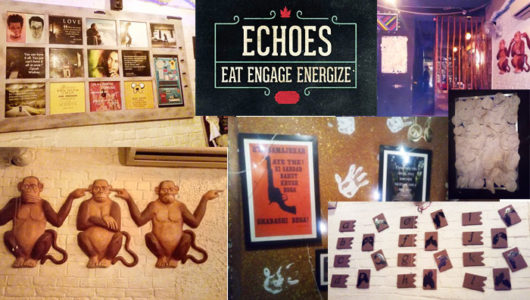 Experience a Different 'World' of Food at ECHOES!