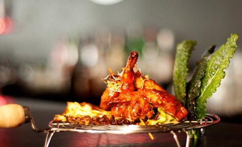 Hara Bhara Kebab Skewers