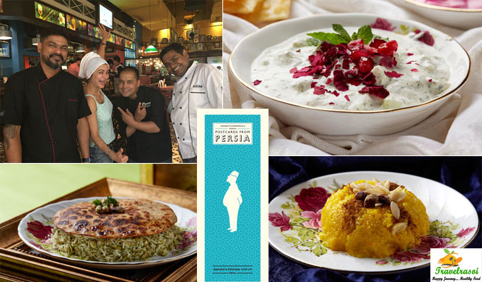 Pop star Anaida presents specially curated Persian cuisine with SodaBottleOpenerWala
