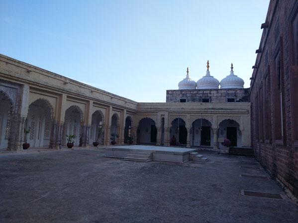 Mehrangarh courtyards jodhpur