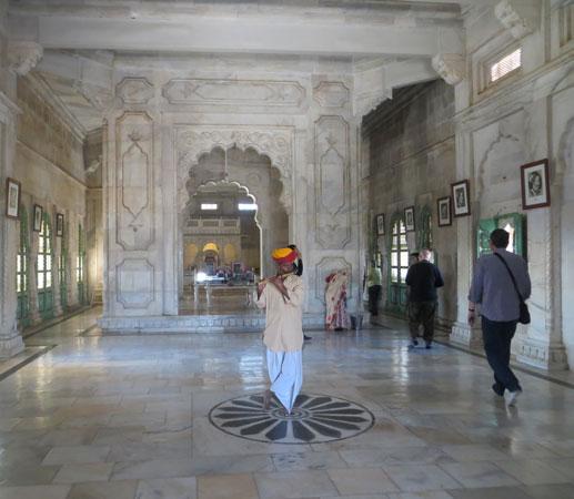 Jaswant Thada interior