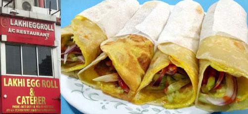 lakhi egg rolls