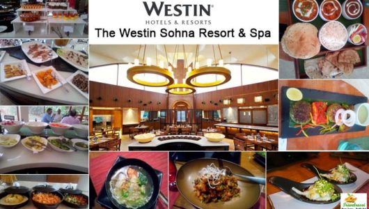 Head off to The Westin Sohna Resort & Spa for a gastronomic delight