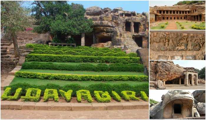 Udayagiri and Khandagiri Caves (TravelRasoi)