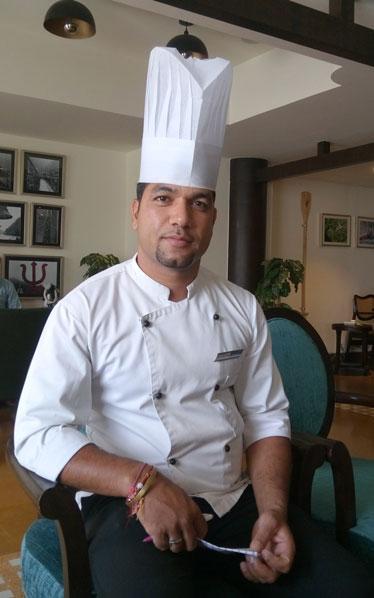 Chef Manoj Singh Rawat at Aloha