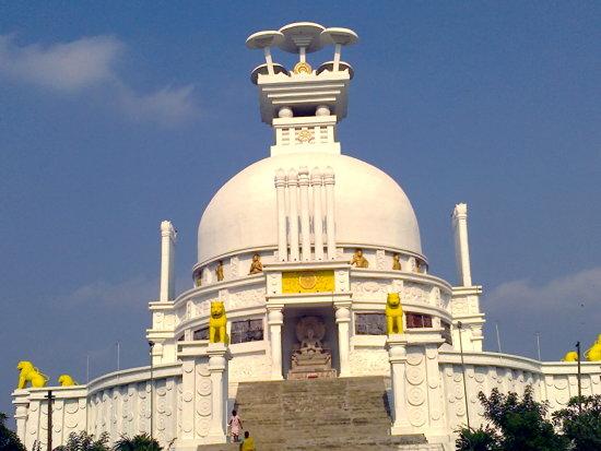 Shanti Stupa at Dhauligiri