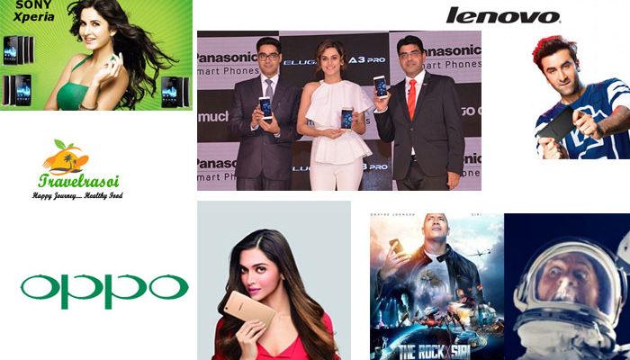 Mobile Brands and their Celebrity Brand Ambassadors