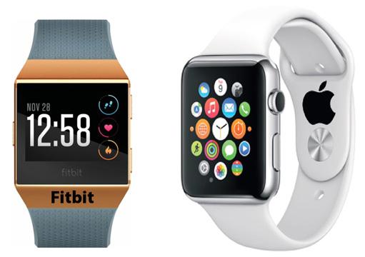 Fitbit & Apple Smartwatchs
