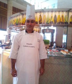 Chef Amardeep Singh Bhatia - Westin Gurugram