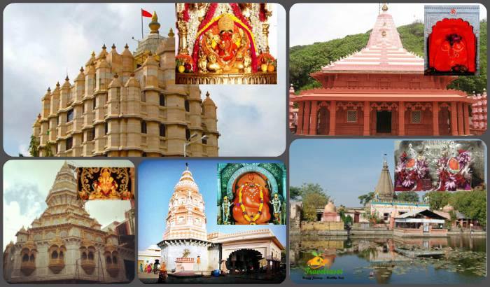 Ganeshsa Temples in Maharashtra