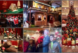 Christmas arrives early at The Leela Ambience, Gurugram