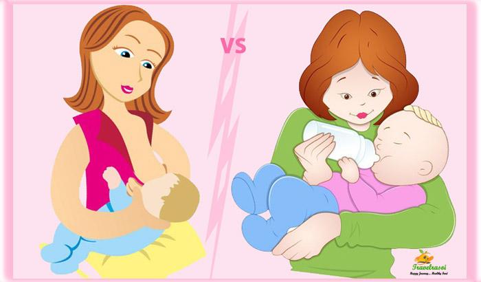 Breastfeeding Vs Formula Milk