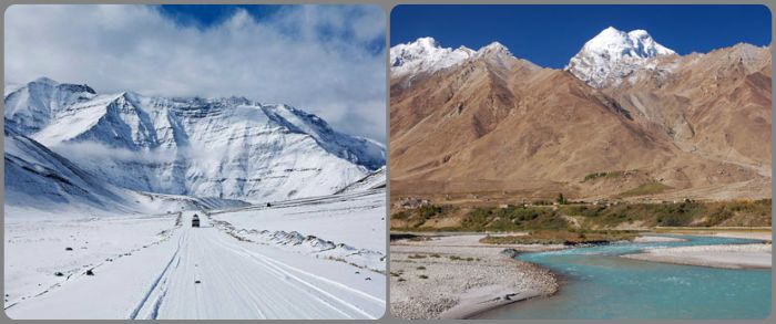 Experience Snow at Ladakh
