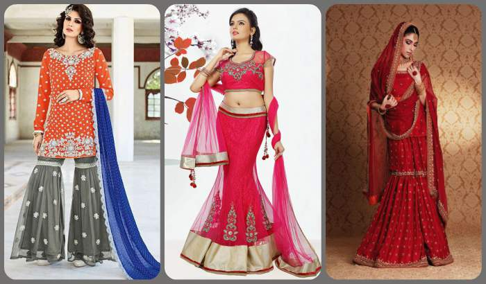 Heavily Embroidered Lehengas