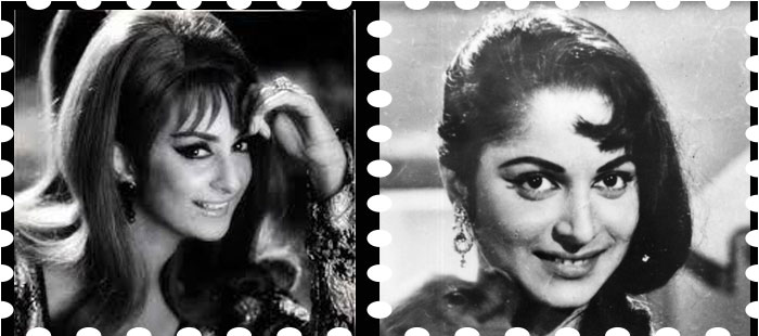 Hair trends in 1960 bollywood