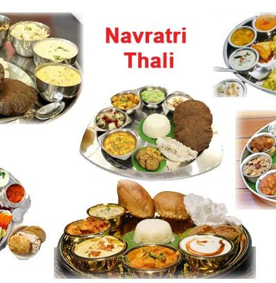 Navratri Thali in India