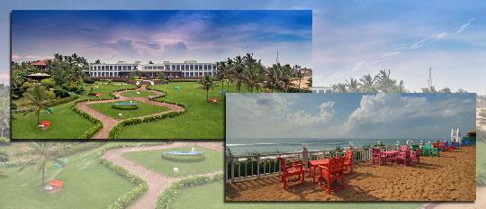 Mayfair Palm Beach Resort, Ganjam, Orissa beachside hotels