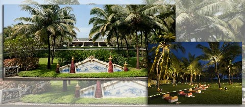 Taj Exotica, Goa beachside hotels
