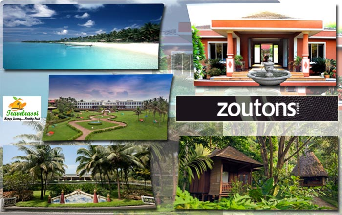 Zouton, Beachside Hotels in India