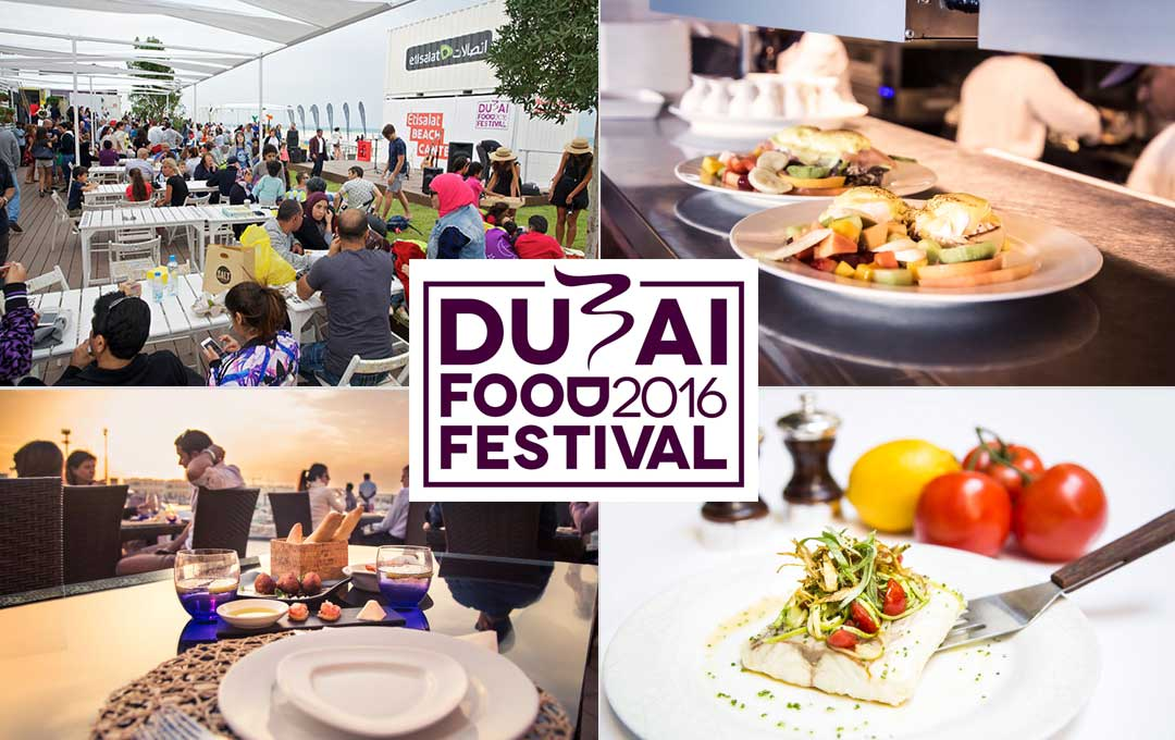Dubai Food Festival Celebrates Taste with Nice Beachy Fun