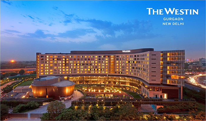The Westin Gurgaon, New Delhi named among the Top Ten Hotels in India