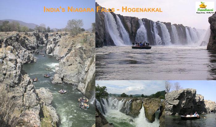 India's Niagara Falls - Hogenakkal