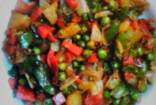 mixed vegetable - continental style