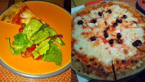 Salads, Risottos, Scrumptious pizzas