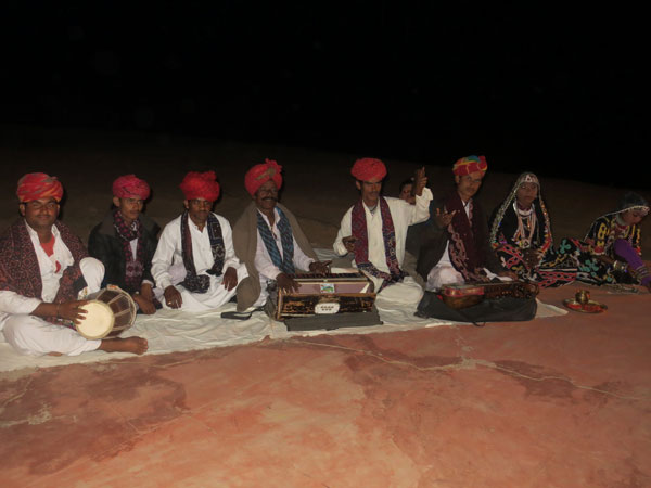 Rajasthani folk songs and kalbelia dancers