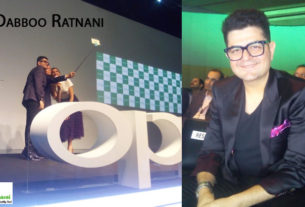 dabboo ratnani in oppo event