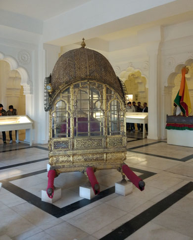Mehrangarh collection of treasures belonging to the Rajput rulers