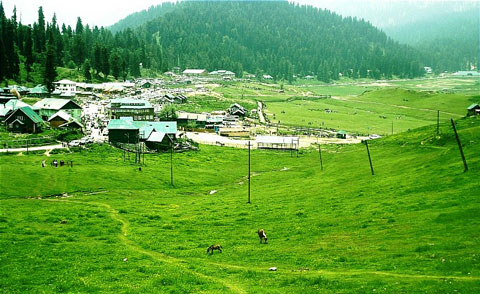 Gulmarg – away from the maddening crowd