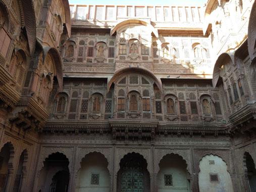 Mehrangarh architecture Jodhpur