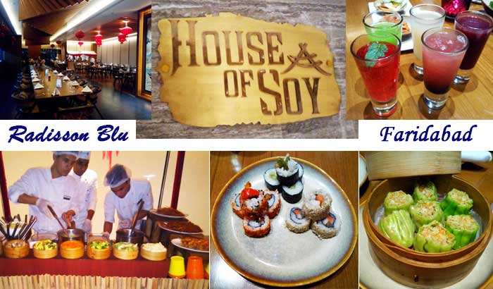 House of Soy, Radisson Blu Faridabad